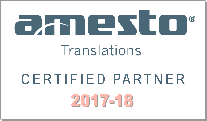 Amesto Certified Partner 2017–18